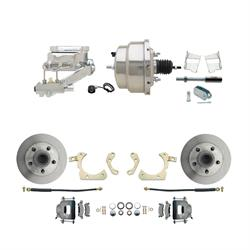 Speedway Power Disc Brake Kit, 11 in. Standard Disc Brakes, Chevy 59-64