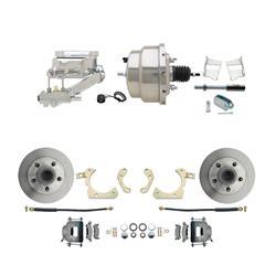 Speedway Power Disc Brake Kit, 11 in. Standard Disc Brakes, Chevy 59-64