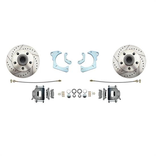 Speedway 11 in. Disc Brake Conv. Kit for Fullsize Chevy Cars 1965-68