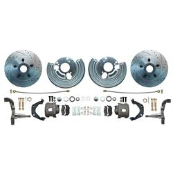 Speedway 62-74 Mopar B-Body, E-Body High Performance 12 in. Big Brake Kit