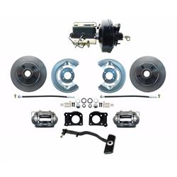 Speedway 1967-69 Ford Mustang OE Style Power Disc Brake Conv. Kit