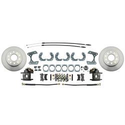 Speedway 8 & 9 Inch Ford Disc Brake Conversion Kit w/ E-Brake