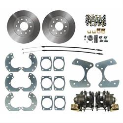 Speedway 8 & 9 Inch Ford Disc Brake Conversion Kit w/ E-Brake