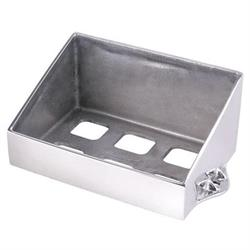 Speedway Polished Aluminum Battery Box, 6-3/4 x 10 In.