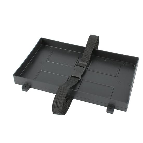 Plastic Battery Hold Down Tray, 12-1/2 x 7-1/4 Inch