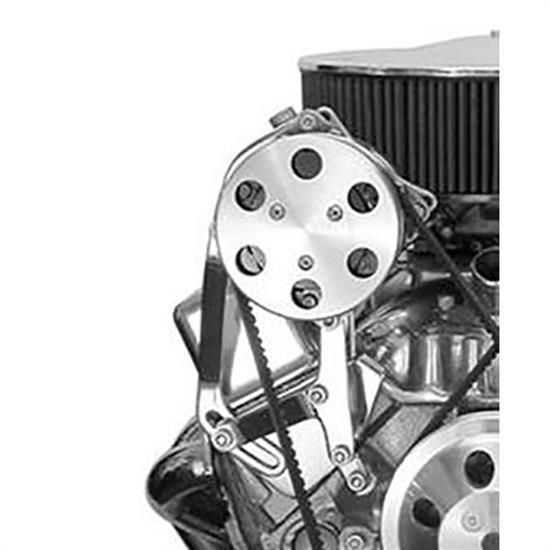 Bills Hot Rod Co  100 Series Sanden 508 A/C Compressor Brackets