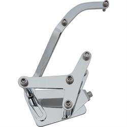 Bills Hot Rod Co. 100 Series Late SBC A/C Bracket, Long Pump