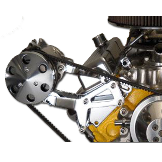 Bills Hot Rod Co  1100 Series SBC Side Mount A/C Compressor Bracket