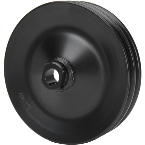 Bills Hot Rod Co. 2034 Power Steering Pulley, 2 Groove, Steel