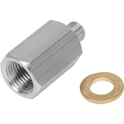 Speedway LS Temp Gauge Sender Adapter Fitting, 12MM x 1/2NPT