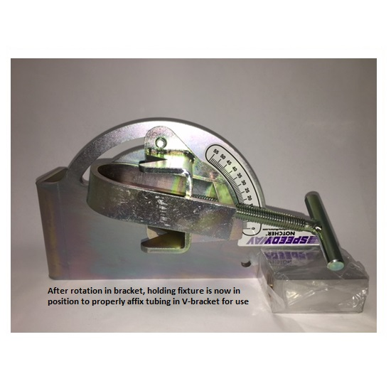 Speedway motors 40 90 degree notcher tubing notching tool for Match motors inc whitefield me