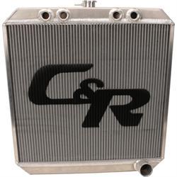 C&R Radiators 91730228 Sprint Car Radiator, 22 X 20 Inch