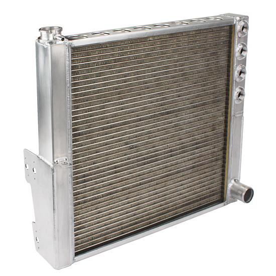 Griffin Radiators 9R-27557-03 Multi-Pass Sprint Car Aluminum Radiator