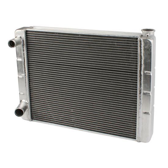 Universal SBC BBC Ford Chevy Mopar Aluminum Radiator High Performance Street Rod