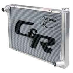 C&R Radiators Chevy Aluminum Radiator, 19 x 31 Inch