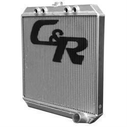 C&R 843-20228 Sprint Car Radiator, 20 x 22 Inch, 1.75 Inch Outlet
