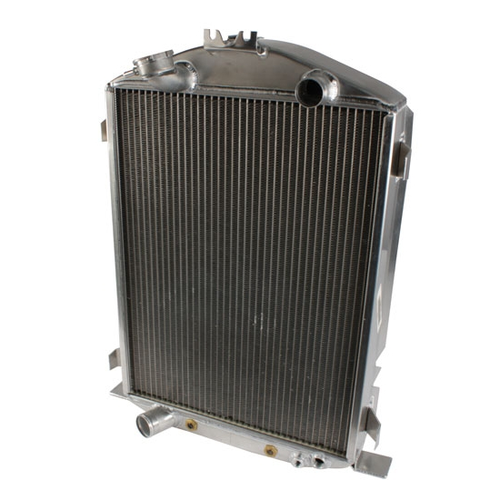 Griffin Radiators 4-232BX-FAA 1932 Ford Aluminum Radiator, Ford V8