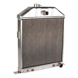 Griffin Radiators 4-242BX-AAX 1942-48 Ford Aluminum Radiator, Chevy V8
