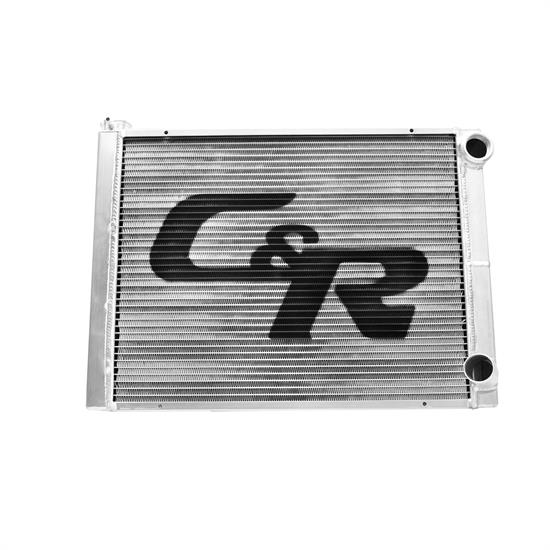 Garage Sale - C&R 802-26190 Double Pass Racing Radiator, 26 x 19 Inch