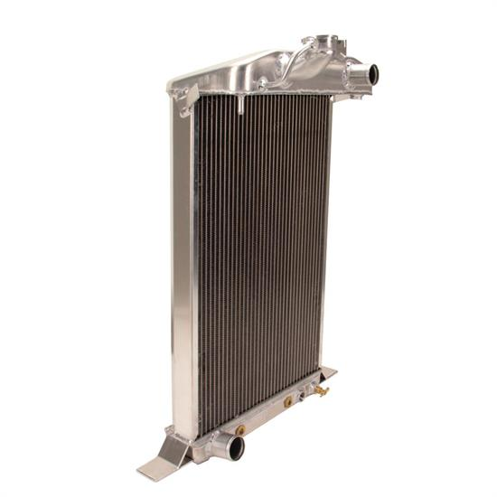 Griffin 7-70121 Deluxe Alum Radiator for 38 Ford Deluxe, SB Ford