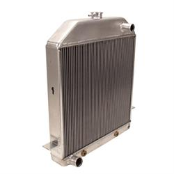 Griffin 7-70097 Deluxe Alum Radiator for 39-40 Ford w/Small Block Ford