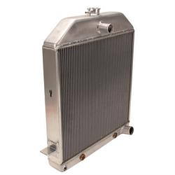 Griffin 7-0102 Deluxe Alum Radiator for 39-40 Ford Chassis w/ SB Chevy