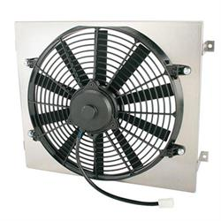 Single 14 Inch Fan Shroud Combo, 15 W x 18 H