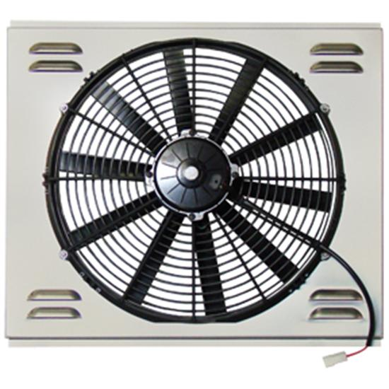 Single 16 Inch Fan Shroud Combo, 20.5 W x 17.5 H
