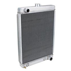 Universal Aluminum Radiator - 27 Inch Tall, Passenger Side Outlet