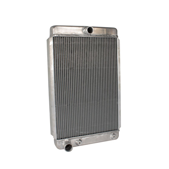 Universal Aluminum Radiator - 26 Inch Tall, Driver Side Outlet