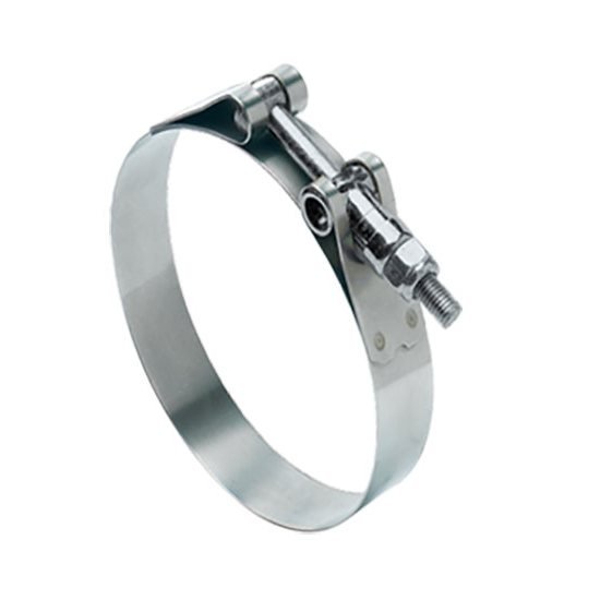 Ideal Heavy Duty T-Bolt Clamp, 5-1/4 Inch Minimum Clamping Diameter