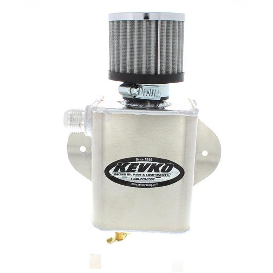 Kevko K9085 Remote Breather Tank, with 1-1/2 Inch Filter