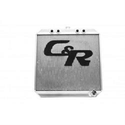 C&R Racing 943-20226 Sprint Car Radiator, Extruded Tube, 20 x 22 Inch