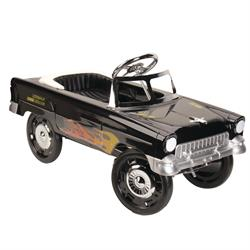1955 Black With Flames Chevy Pedal Car