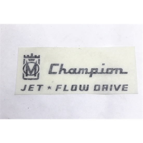 Garage Sale - Murray Full Side Champion Jet Flow Drive Graphic