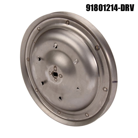 Pedal Car Parts, 7-1/2 Inch Smooth Wheel, for 3-3/8 Inch Hubcap