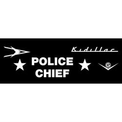 Garage Sale - Kidillac Police Chief 1953 Graphic