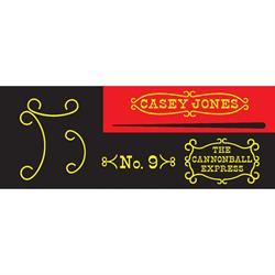 Garton Casey Jones 1960-62 Pedal Car Graphic