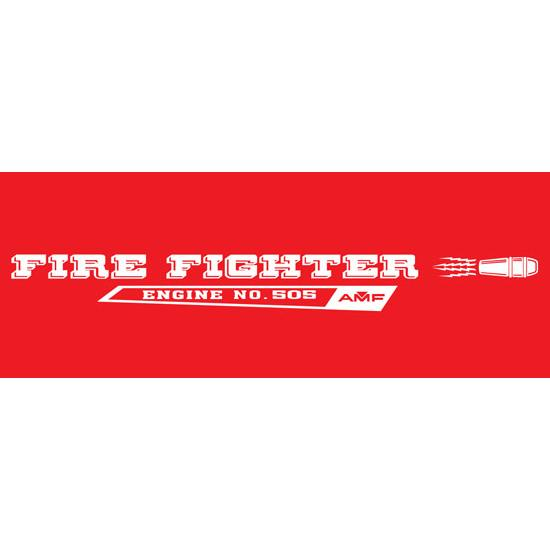 AMF Generic Fire Fighter 505 1970-71 Graphic