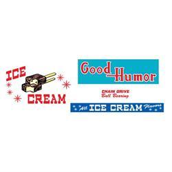 Murray® Three-Wheeler Good Humor Truck 1955-57 Graphic