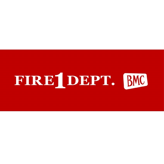 BMC AB-9 Fire 1 Dept. Pedal Car Graphic