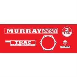 Murray® Tractor Diesel Graphics