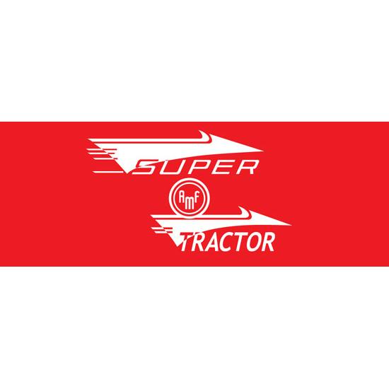AMF Super Tractor Graphic