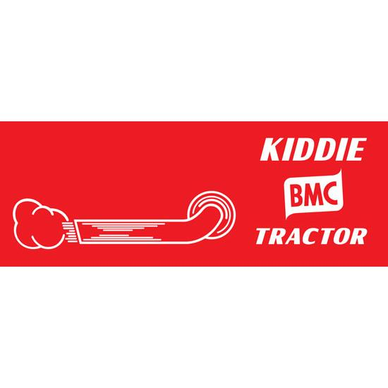 BMC Kiddie Pedal Tractor Graphic