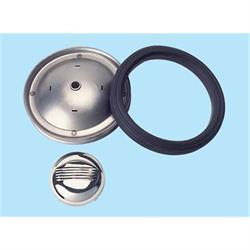 Plain Steel Wheel and Tire Combo, Mark V Kit