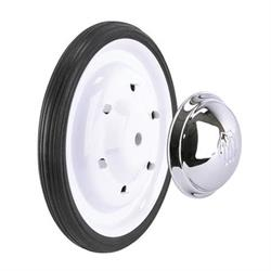 Murray® White Powder Coated Wheel and Tire Combos - White Wheel Kit