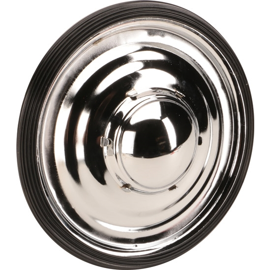 Chrome 7-1/2 Inch Pedal Car Drive Wheel and Tire Combo