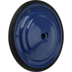 Blue and White Wheel and Tire Combo, Ripple Wheel
