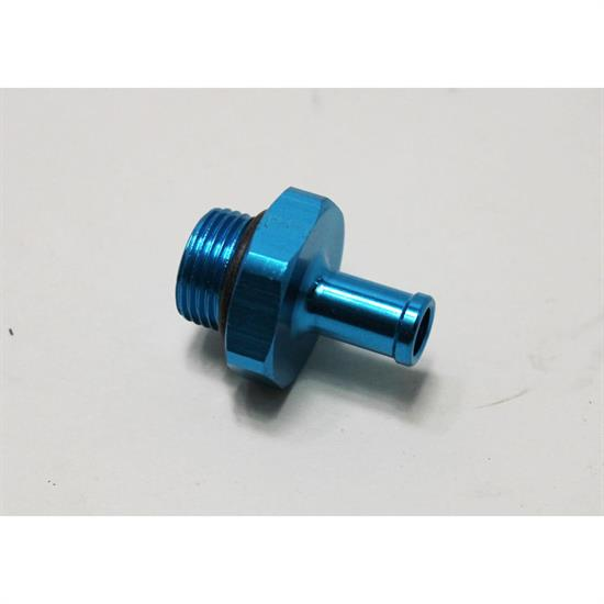 Aluminum 5/8-18 to 3/8 Barb Fitting