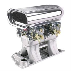 Big Block Chevy Street Tunnel Ram Kit, Polished Scoop